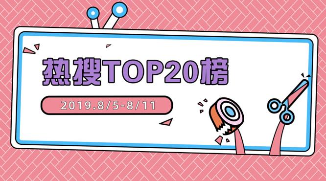 热搜TOP20榜
