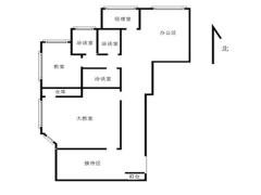 华仁国际的大厦  精装修 带隔断 含税价 随时看房