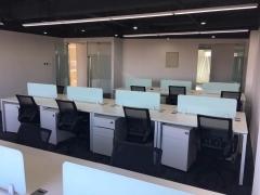 望京 博泰嘉华大厦 办公室出租 精装修 到顶隔间 采光好