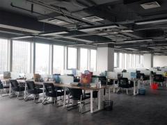 崂山商务区 上实中心600平精装带家具办公室 含税价
