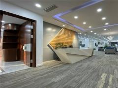 华润大厦新出380平豪装带家具 五四广场地铁口办公 看海