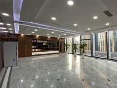 青岛五四广场地铁口 华润大厦高区豪装办公室 海景电梯口视野好