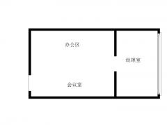 青岛市北商务区精装办公室出租 全套家具 有隔断 随时预约看房