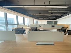 青岛市北CBD高区豪装 带全套家具拎包入住 高端办公随时看房