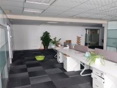 崂山区 国发中心 156平精装南向办公室 近地铁