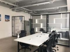 双山地铁口 鸿府大厦 精装修75平 带家具 中央空调