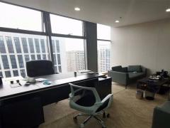 CBD卓越大融城 200平高区南向带家具办公室 临地铁