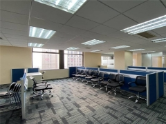 市南市北核心地段 中海大厦精装修高端写字楼 带家具