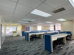 中海大厦 300平带家具含税办公室出租 可季付
