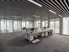 市北青岛广场 南向精装办公室出租 地铁200m