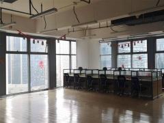 市北卓越世纪中心 267平精装办公室 高端写字楼