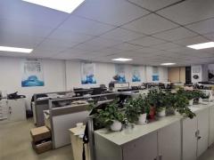 崂山区 天泰金融广场 360平精装南向办公室 近地铁