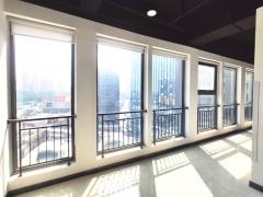 市北 万科中心 528平 精装 高层 采光好 楼下地铁