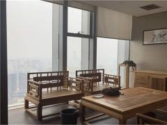 中铁青岛中心高区整层全海景精装修带家具地铁口